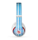 The Vintage Blue Striped Pattern V4 Skin for the Beats by Dre Studio (2013+ Version) Headphones