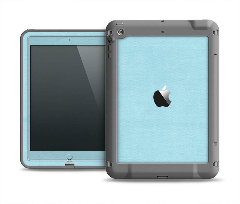 The Vintage Blue Surface Apple iPad Air LifeProof Fre Case Skin Set