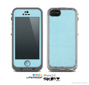 The Vintage Blue Surface Skin for the Apple iPhone 5c LifeProof Case