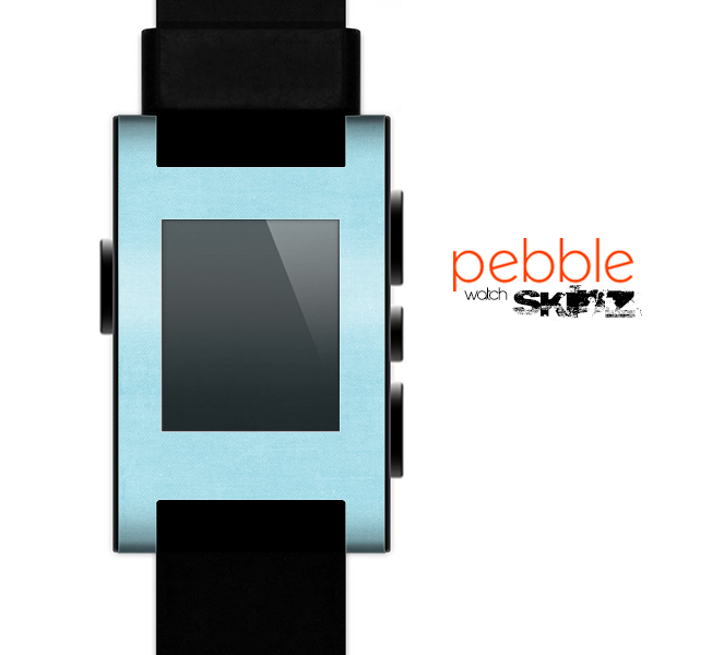 The Vintage Blue Surface Skin for the Pebble SmartWatch