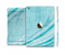 The Vintage Blue Swirled Full Body Skin Set for the Apple iPad Mini 3