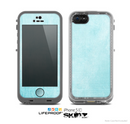 The Vintage Blue Textured Surface Skin for the Apple iPhone 5c LifeProof Case