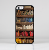 The Vintage Bookcase V1 Skin-Sert for the Apple iPhone 5c Skin-Sert Case