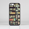 The Vintage Bookcase V2 Skin-Sert for the Apple iPhone 5c Skin-Sert Case