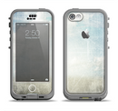 The Vintage Cloudy Scene Surface Apple iPhone 5c LifeProof Nuud Case Skin Set
