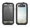 The Vintage Cloudy Scene Surface Samsung Galaxy S3 LifeProof Fre Case Skin Set