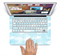 "The Vintage Cloudy Skies Skin Set for the Apple MacBook Pro 15"" with Retina Display"