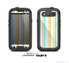 The Vintage Colored Stripes Skin For The Samsung Galaxy S3 LifeProof Case