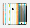The Vintage Colored Stripes Skin for the Apple iPhone 6