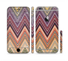 The Vintage Colored V3 Chevron Pattern Sectioned Skin Series for the Apple iPhone 6 Plus