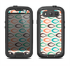 The Vintage Colored Vector Fish Icons Samsung Galaxy S3 LifeProof Fre Case Skin Set