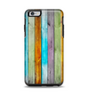 The Vintage Colored Wooden Planks Apple iPhone 6 Plus Otterbox Symmetry Case Skin Set