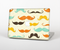 "The Vintage Colorful Mustaches Skin Set for the Apple MacBook Pro 15"" with Retina Display"
