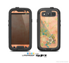 The Vintage Coral Floral Skin For The Samsung Galaxy S3 LifeProof Case