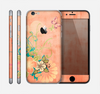 The Vintage Coral Floral Skin for the Apple iPhone 6