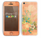 The Vintage Coral Floral copy Skin for the Apple iPhone 5c