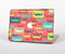 "The Vintage Coral and Neon Mustaches Skin Set for the Apple MacBook Pro 15"" with Retina Display"