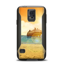 The Vintage Cruise ship at Dusk Samsung Galaxy S5 Otterbox Commuter Case Skin Set