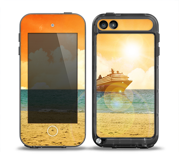 The Vintage Cruise ship at Dusk Skin for the iPod Touch 5th Generation frē LifeProof Case