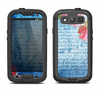 The Vintage Denim & Pink Floral Samsung Galaxy S3 LifeProof Fre Case Skin Set