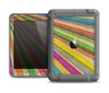 The Vintage Downward Ray of Colors Apple iPad Air LifeProof Fre Case Skin Set