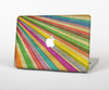 The Vintage Downward Ray of Colors Skin Set for the Apple MacBook Air 13""