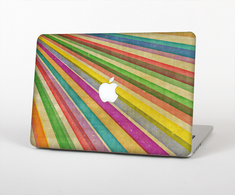 The Vintage Downward Ray of Colors Skin for the Apple MacBook Air 13 ...