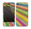 The Vintage Downward Ray of Colors Skin for the Apple iPhone 4-4s