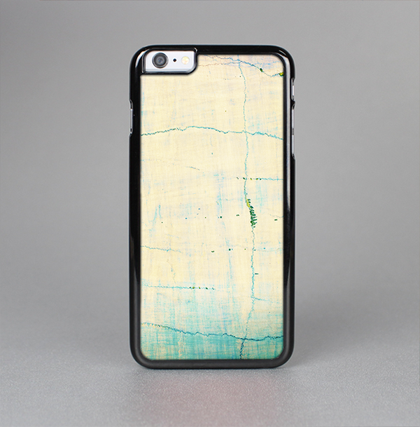 The Vintage Faded Colors with Cracks Skin-Sert Case for the Apple iPhone 6 Plus