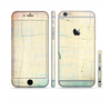 The Vintage Faded Colors with Cracks Sectioned Skin Series for the Apple iPhone 6 Plus