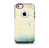 The Vintage Faded Colors with Cracks Skin for the iPhone 5c OtterBox Commuter Case