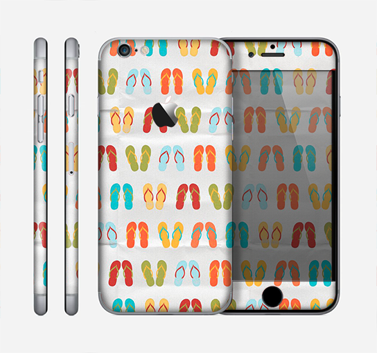 The Vintage Flip-Flops Skin for the Apple iPhone 6