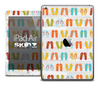 The Vintage Flip Flops Skin for the iPad Air