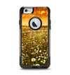 The Vintage Glowing Orange Field Apple iPhone 6 Otterbox Commuter Case Skin Set