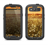 The Vintage Glowing Orange Field Samsung Galaxy S3 LifeProof Fre Case Skin Set
