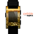 The Vintage Glowing Orange Field Skin for the Pebble SmartWatch