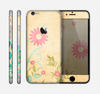 The Vintage Golden Flowers Skin for the Apple iPhone 6