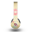 The Vintage Golden Flowers Skin for the Beats by Dre Original Solo-Solo HD Headphones