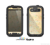 The Vintage Golden Tiny Polka Dots Skin For The Samsung Galaxy S3 LifeProof Case