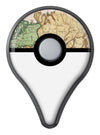 The Vintage Grand Ocean Map Pokémon GO Plus Vinyl Protective Decal Skin Kit