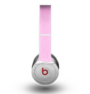 The Vintage Gray & Pink Texture Skin for the Beats by Dre Original Solo-Solo HD Headphones