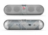 The Vintage Gray Textured Chevron Pattern Wide V3 Skin for the Beats by Dre Pill Bluetooth Speaker