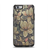 The Vintage Green Pastel Flower pattern Apple iPhone 6 Otterbox Symmetry Case Skin Set