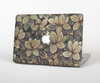 The Vintage Green Pastel Flower pattern Skin Set for the Apple MacBook Air 13""