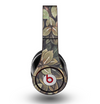 The Vintage Green Pastel Flower pattern Skin for the Original Beats by Dre Studio Headphones
