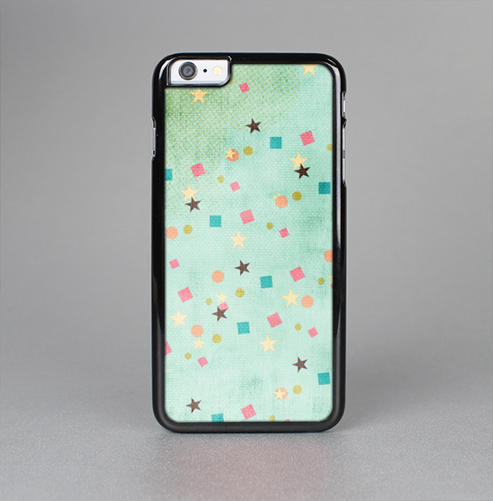 The Vintage Green Shapes Skin-Sert for the Apple iPhone 6 Skin-Sert Case