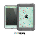 The Vintage Green Shapes Skin for the Apple iPad Mini LifeProof Case