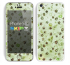The Vintage Green Tiny Floral Skin for the Apple iPhone 5c