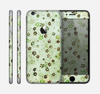 The Vintage Green Tiny Floral Skin for the Apple iPhone 6