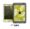 The Vintage Green & White Floral Pattern Skin for the Apple iPad Mini LifeProof Case